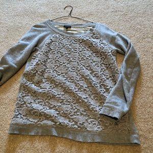 Grey xs Talbots sweatshirt